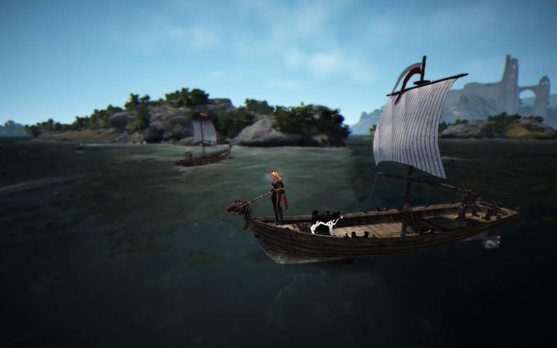 Black desert износ лодки